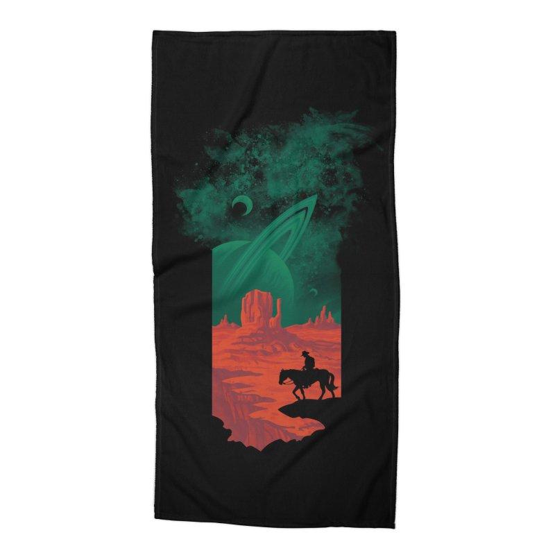 Final Frontiersman Accessories Beach Towel by Threadless Artist Shop