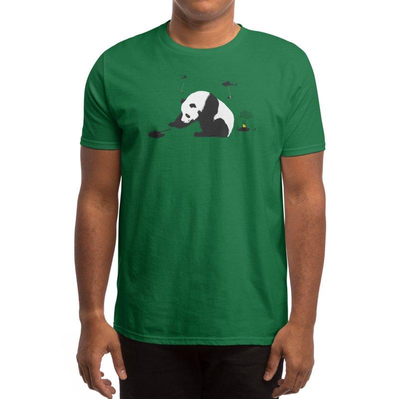 Pandamonium Men's T-Shirt by Threadless Artist Shop