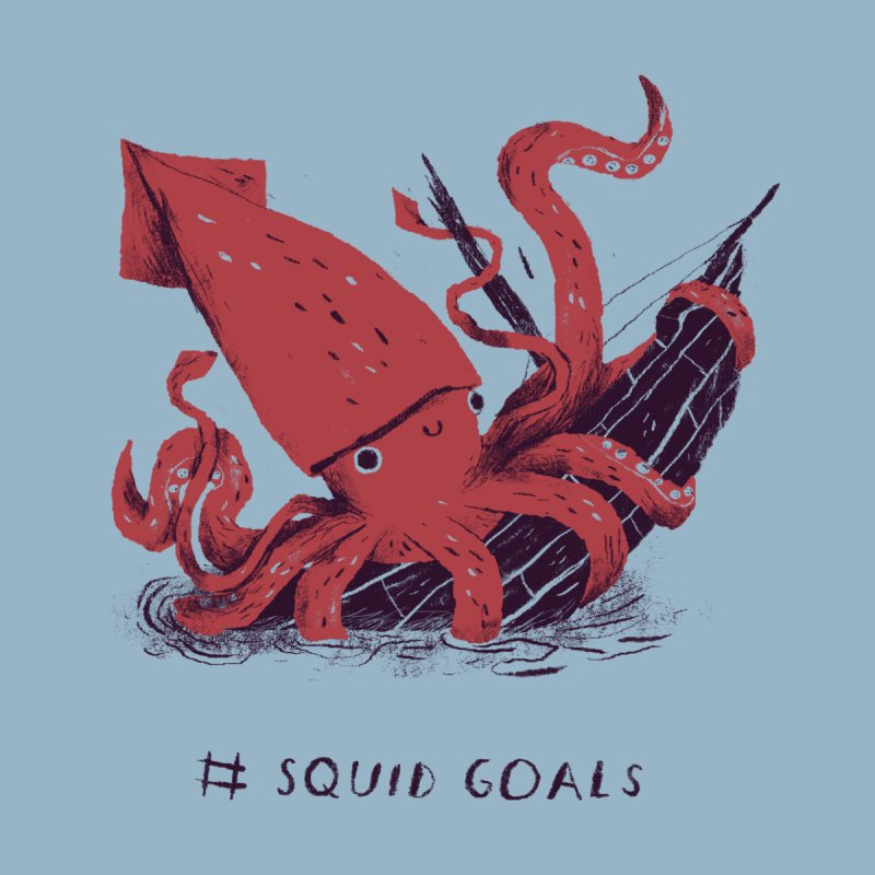 squid goals Men's T-Shirt by Threadless Artist Shop