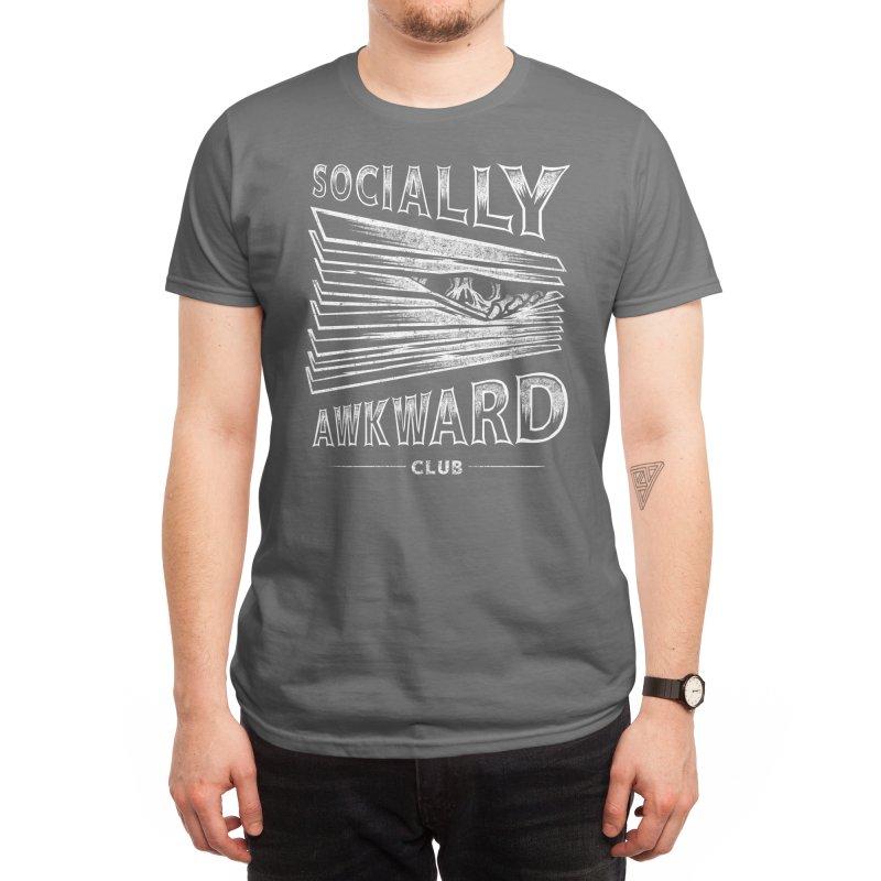 Socially Awkward Club Men's T-Shirt by Threadless Artist Shop