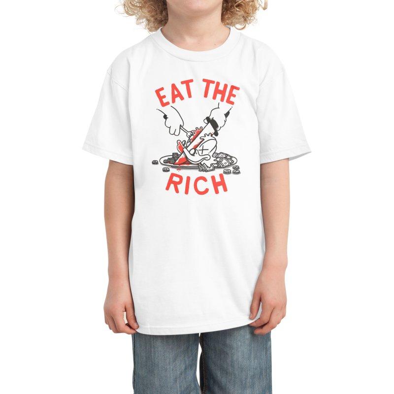 Eat the rich Kids T-Shirt by Threadless Artist Shop