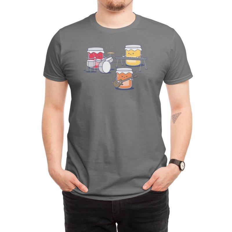 Jam Session (Black Variant) Men's T-Shirt by Threadless Artist Shop