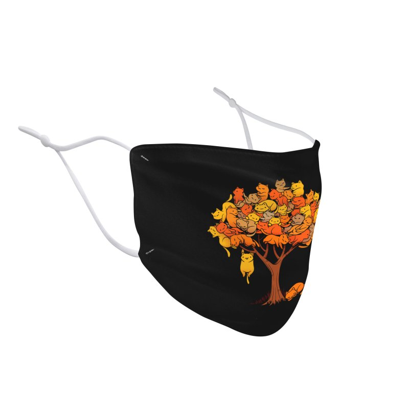 Cat Tree Accessories Face Mask by Threadless Artist Shop