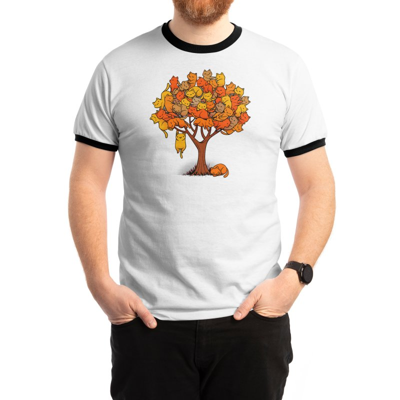 Cat Tree Men's T-Shirt by Threadless Artist Shop