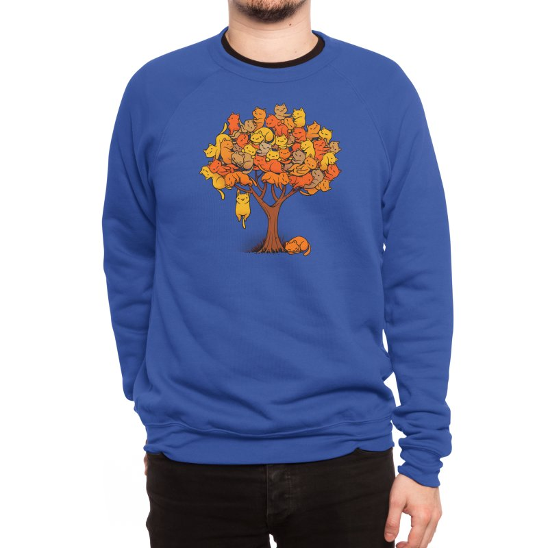 Cat Tree Men's Sweatshirt by Threadless Artist Shop