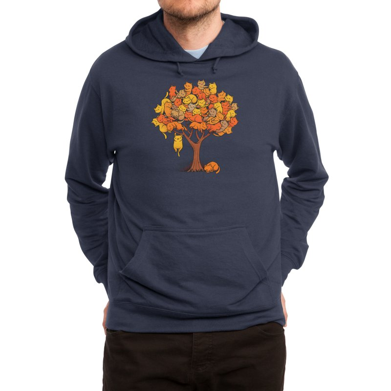 Cat Tree Men's Pullover Hoody by Threadless Artist Shop
