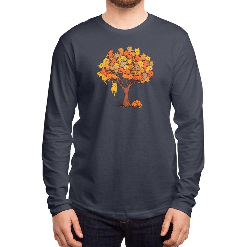 Cat Tree Men's Longsleeve T-Shirt by Threadless Artist Shop