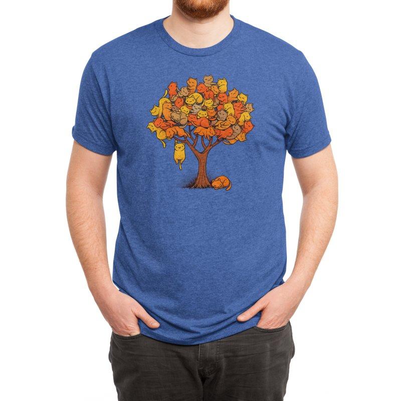 Cat Tree Men's T-Shirt by Threadless Artist Shop