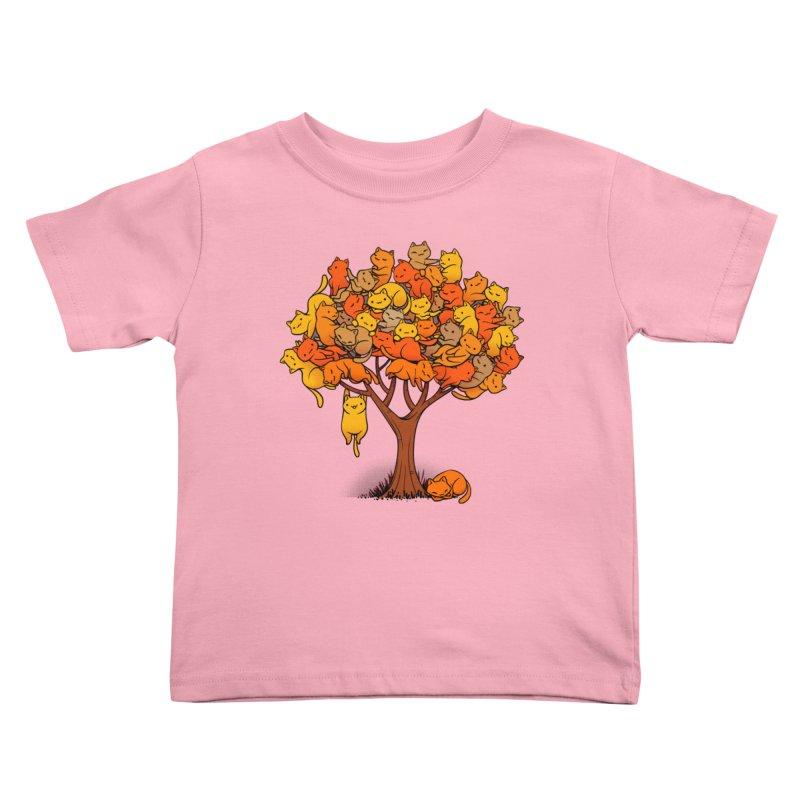 Cat Tree Kids Toddler T-Shirt by Threadless Artist Shop