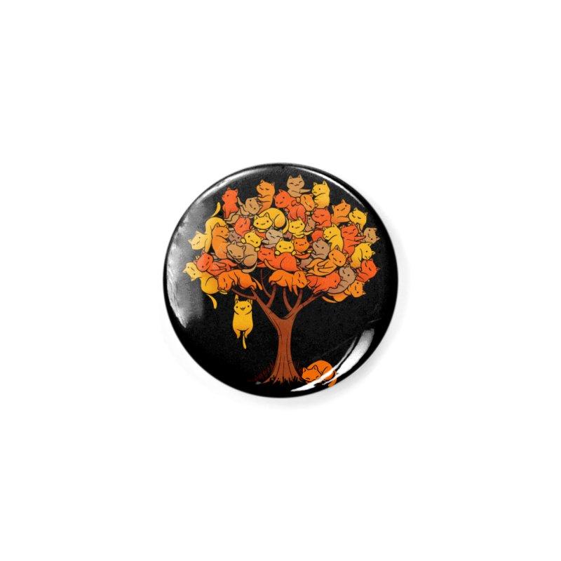 Cat Tree Accessories Button by Threadless Artist Shop