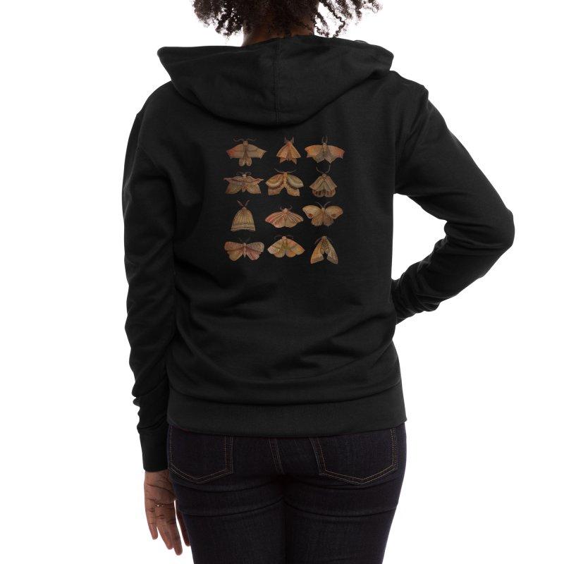 Moth Collector Women's Zip-Up Hoody by Threadless Artist Shop