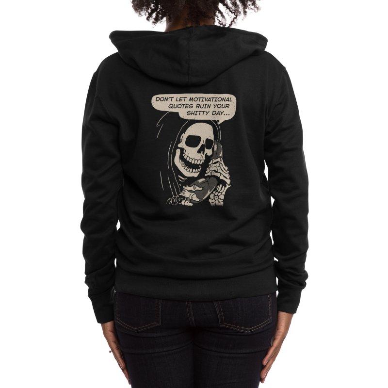 Coaching Women's Zip-Up Hoody by Threadless Artist Shop