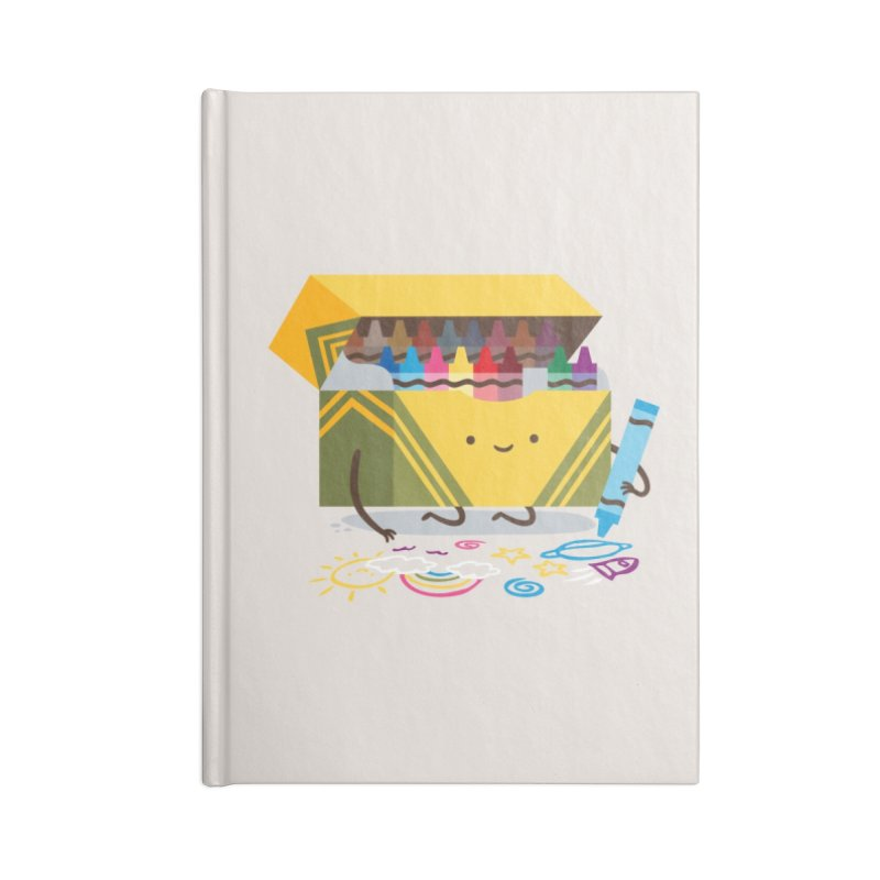 Be Creative Accessories Notebook by Threadless Artist Shop