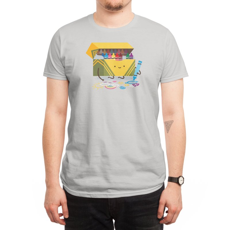 Be Creative Men's T-Shirt by Threadless Artist Shop
