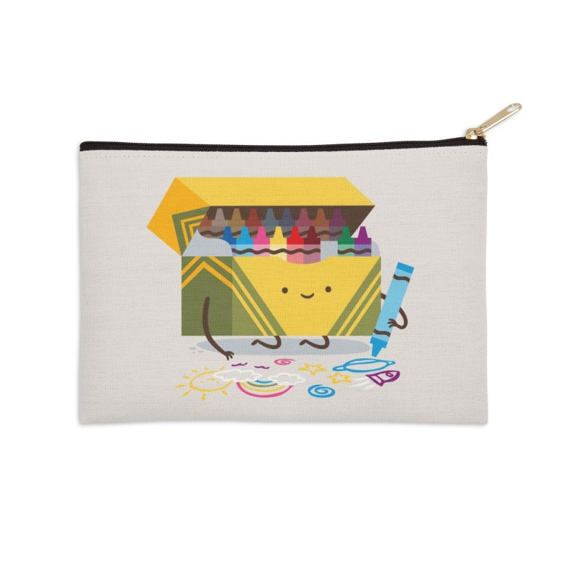 Be Creative Accessories Zip Pouch by Threadless Artist Shop