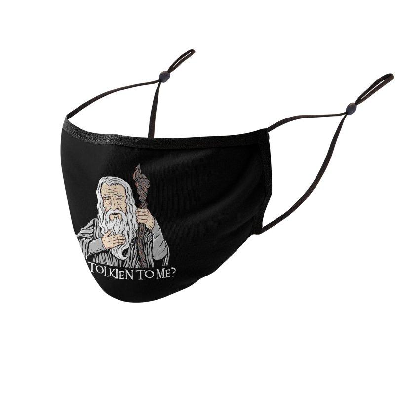 Gandalf the Gangsta Accessories Face Mask by Threadless Artist Shop