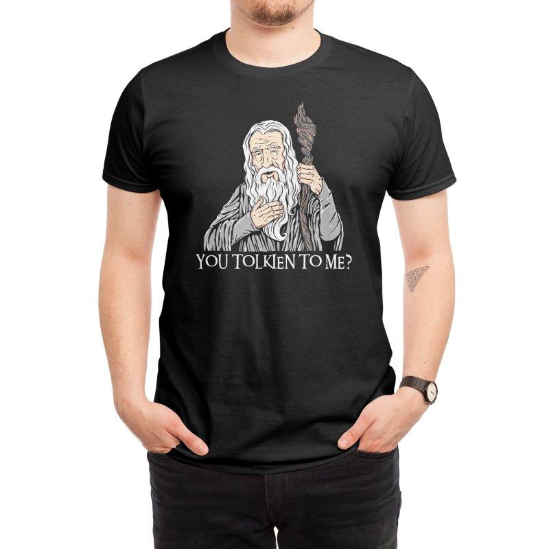 Gandalf the Gangsta Men's T-Shirt by Threadless Artist Shop
