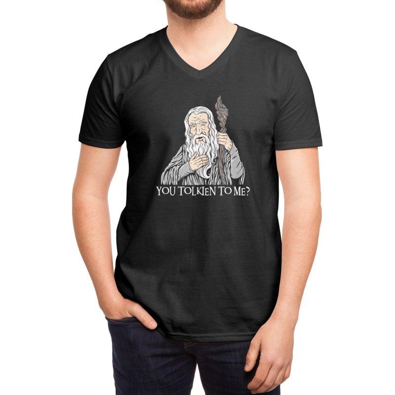 Gandalf the Gangsta Men's V-Neck by Threadless Artist Shop