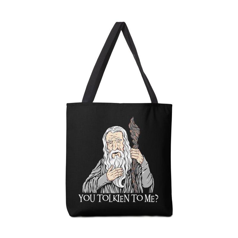 Gandalf the Gangsta Accessories Bag by Threadless Artist Shop