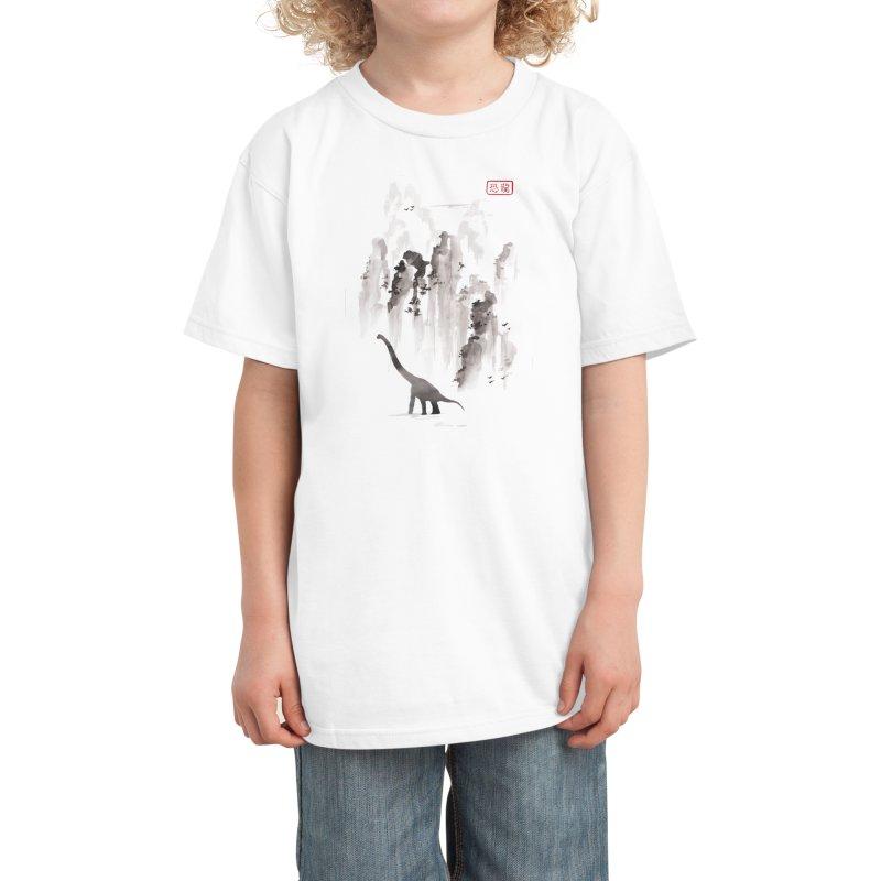 Dinosaur dynasty Kids T-Shirt by Threadless Artist Shop