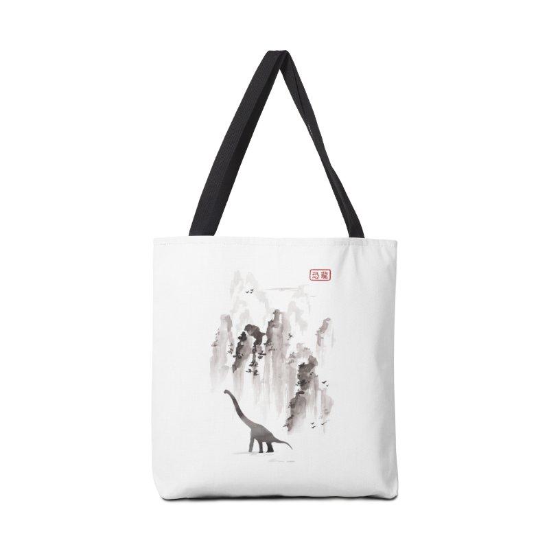 Dinosaur dynasty Accessories Bag by Threadless Artist Shop