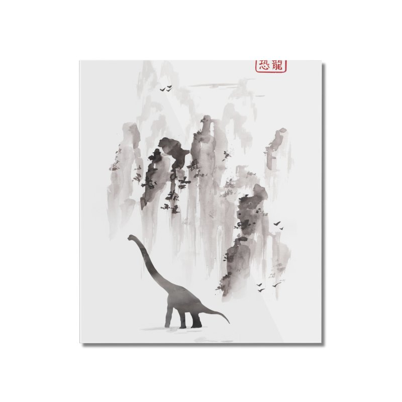 Dinosaur dynasty Home Mounted Acrylic Print by Threadless Artist Shop