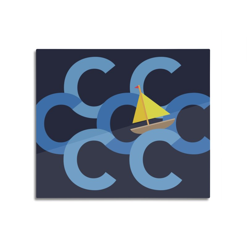 Sail the Seven C's Home Mounted Acrylic Print by Threadless Artist Shop