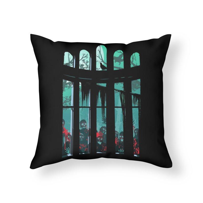The Plague Home Throw Pillow by Threadless Artist Shop