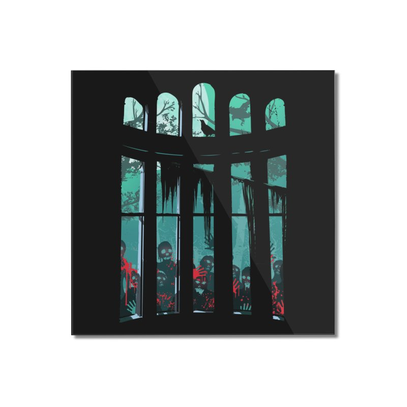 The Plague Home Mounted Acrylic Print by Threadless Artist Shop