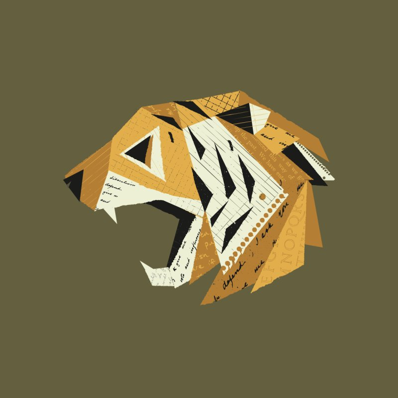 Paper Tiger - Ross Bruggink Men's T-Shirt by Threadless Artist Shop