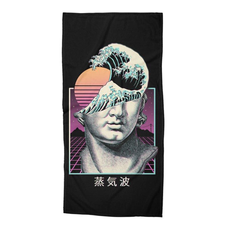 Great Vaporwave Accessories Beach Towel by Threadless Artist Shop