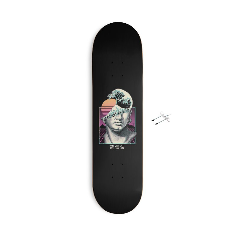 Great Vaporwave Accessories Skateboard by Threadless Artist Shop