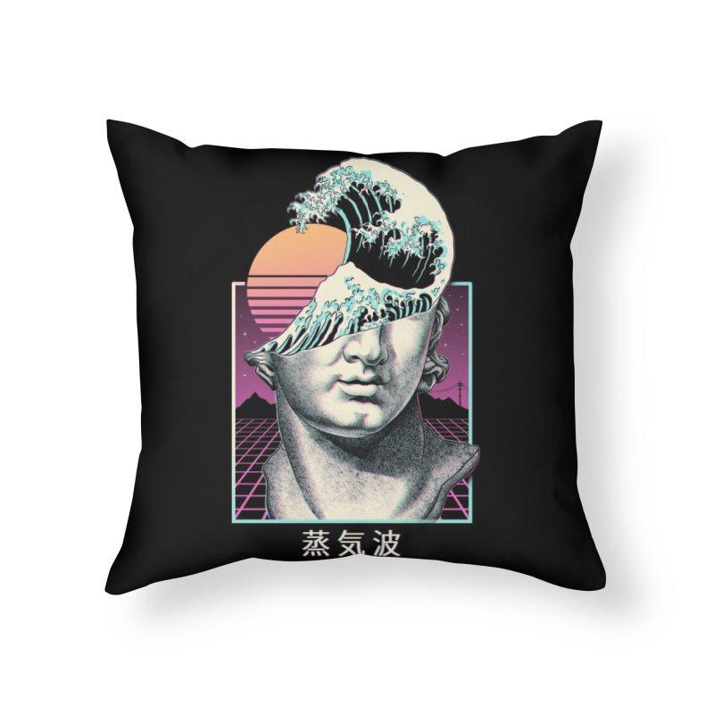 Great Vaporwave Home Throw Pillow by Threadless Artist Shop