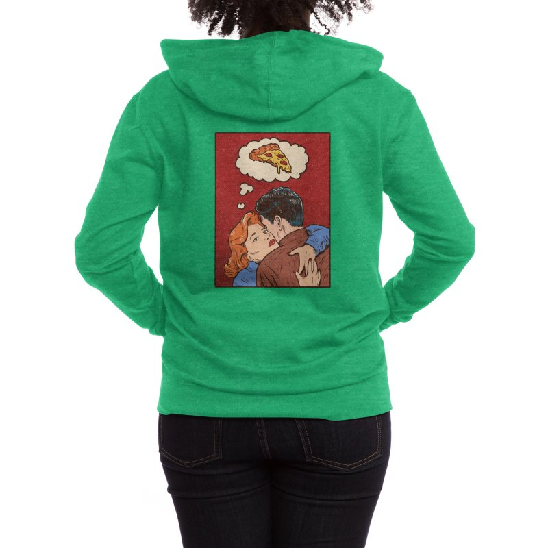 Thinking of you Women's Zip-Up Hoody by Threadless Artist Shop