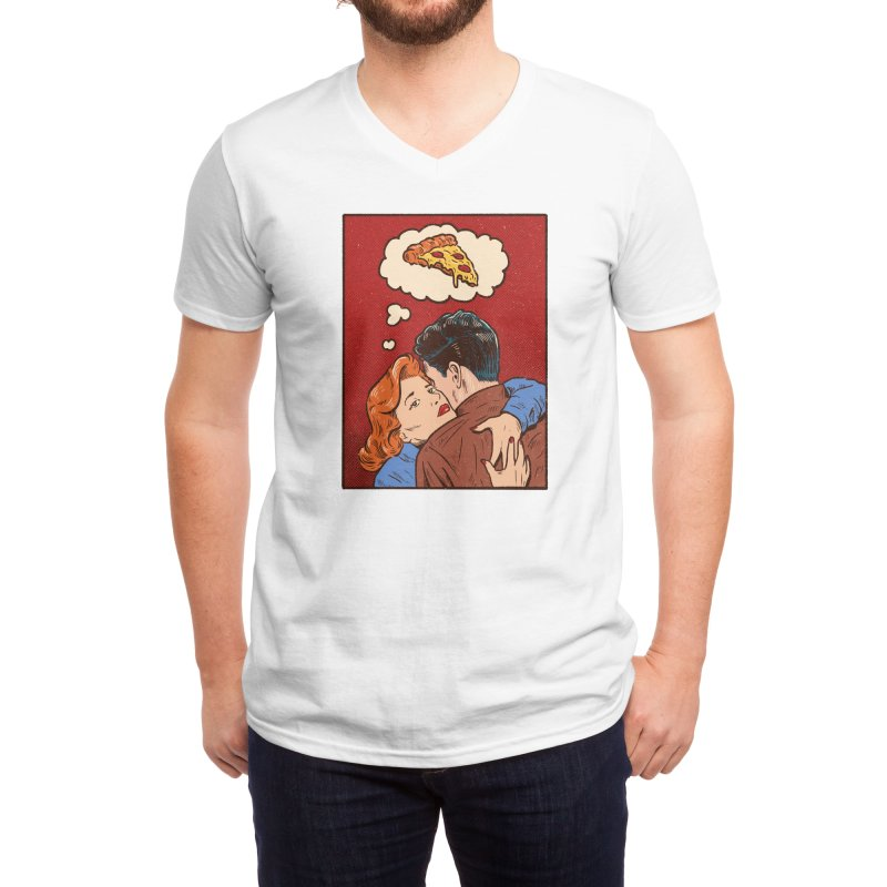 Thinking of you Men's V-Neck by Threadless Artist Shop