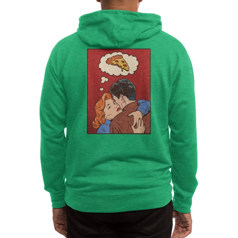 Thinking of you Men's Zip-Up Hoody by Threadless Artist Shop