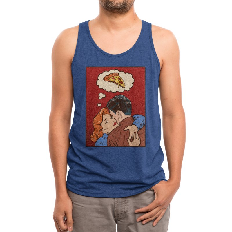 Thinking of you Men's Tank by Threadless Artist Shop
