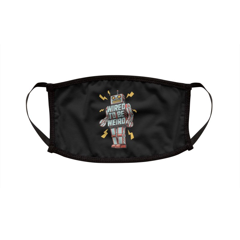 Wired to be Weird Accessories Face Mask by Threadless Artist Shop