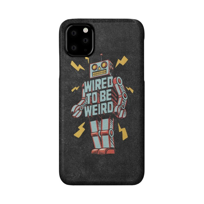 Wired to be Weird Accessories Phone Case by Threadless Artist Shop