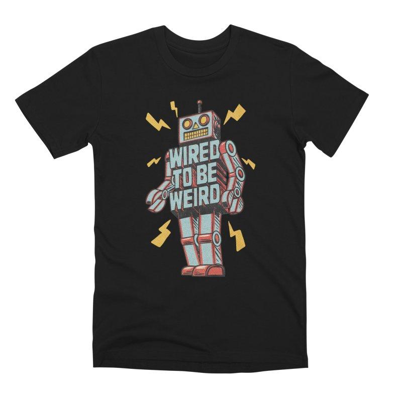 Wired to be Weird Men's T-Shirt by Threadless Artist Shop