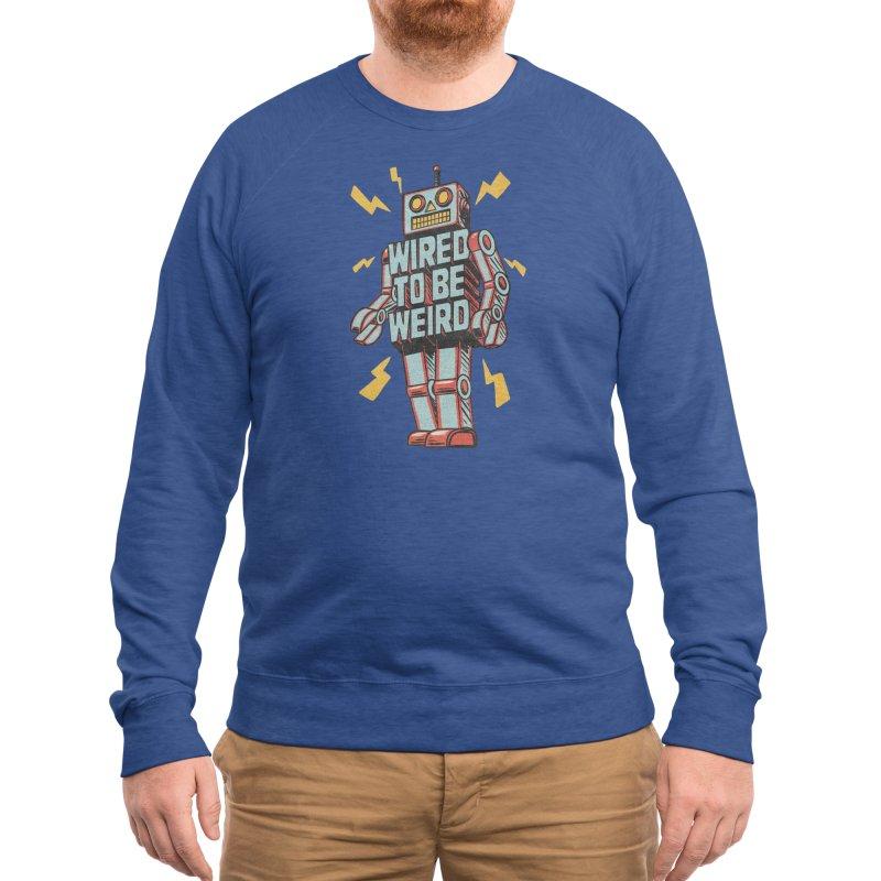 Wired to be Weird Men's Sweatshirt by Threadless Artist Shop