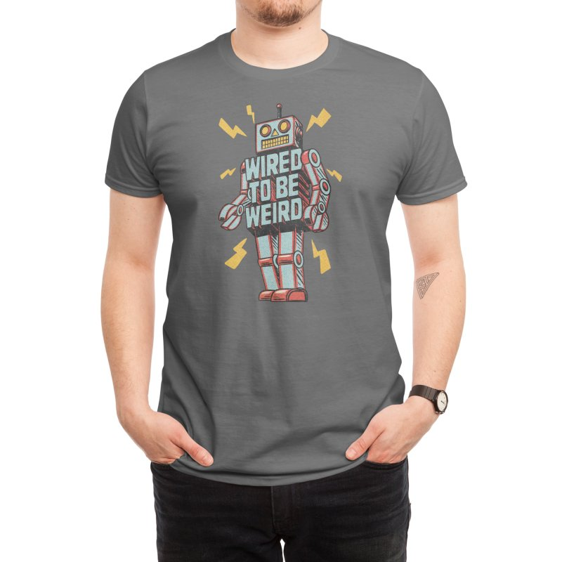 Wired to be Weird Men's T-Shirt by Threadless Artist Shop