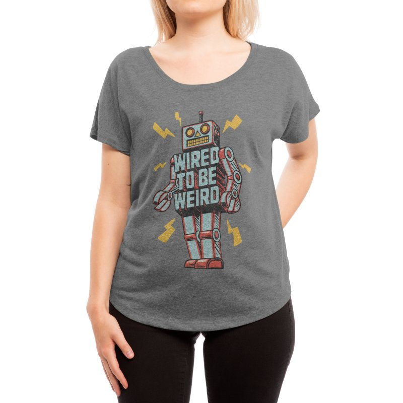 Wired to be Weird Women's Scoop Neck by Threadless Artist Shop