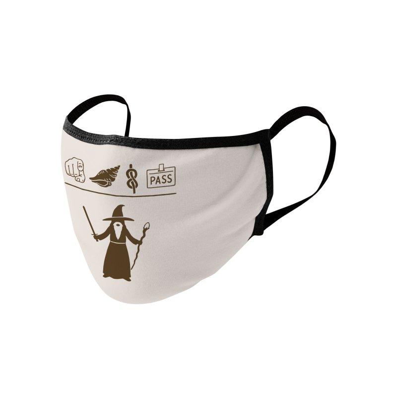 Wizard Hieroglyph Accessories Face Mask by Threadless Artist Shop