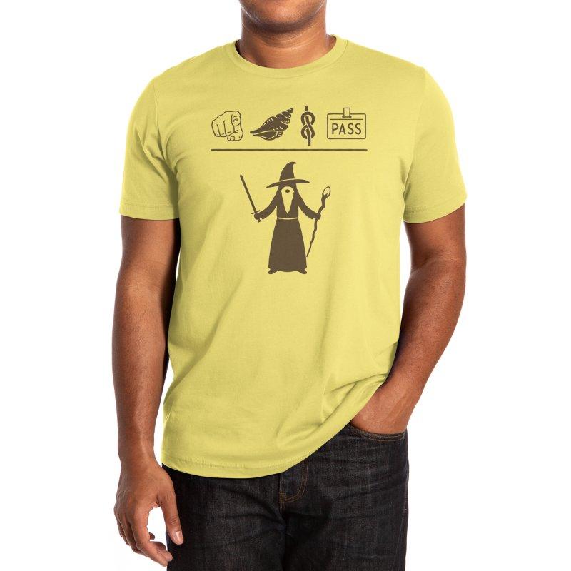 Wizard Hieroglyph Men's T-Shirt by Threadless Artist Shop