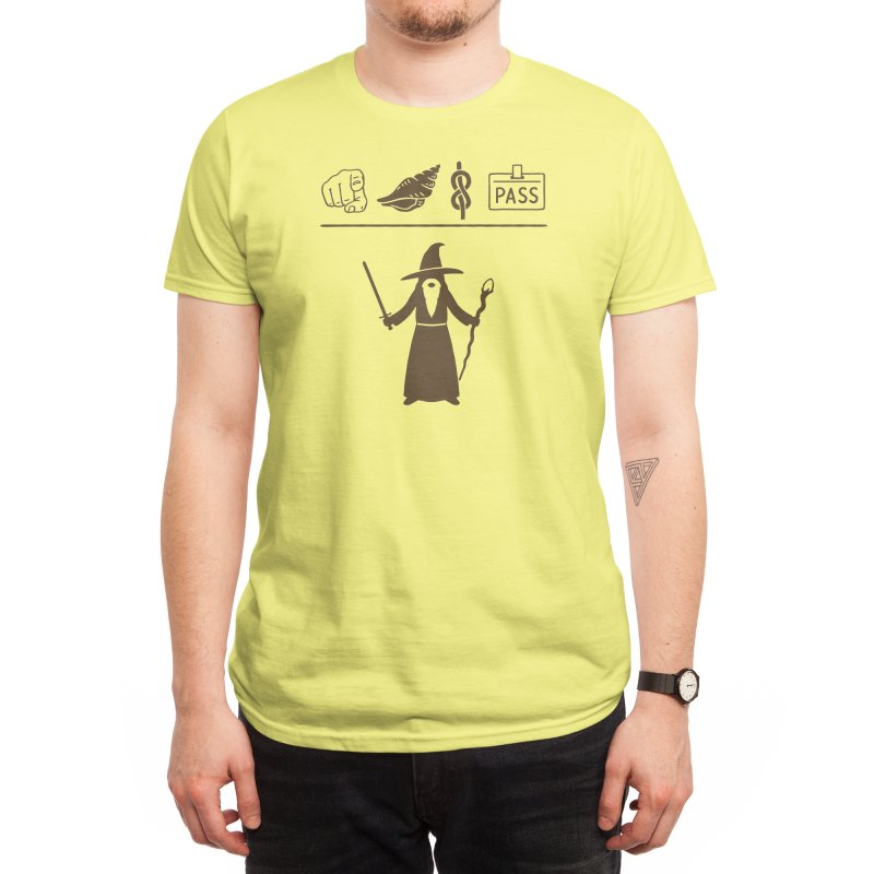 Wizard Hieroglyph Men's T-Shirt by Threadless Artist Shop