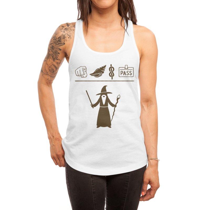 Wizard Hieroglyph Women's Tank by Threadless Artist Shop