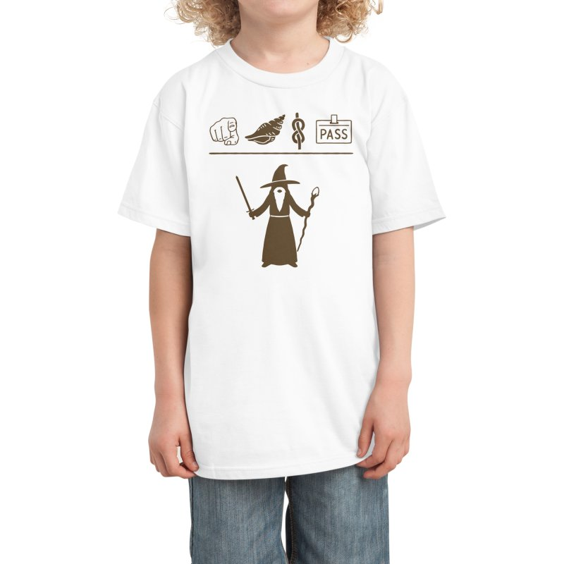 Wizard Hieroglyph Kids T-Shirt by Threadless Artist Shop