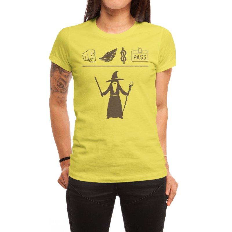 Wizard Hieroglyph Women's T-Shirt by Threadless Artist Shop