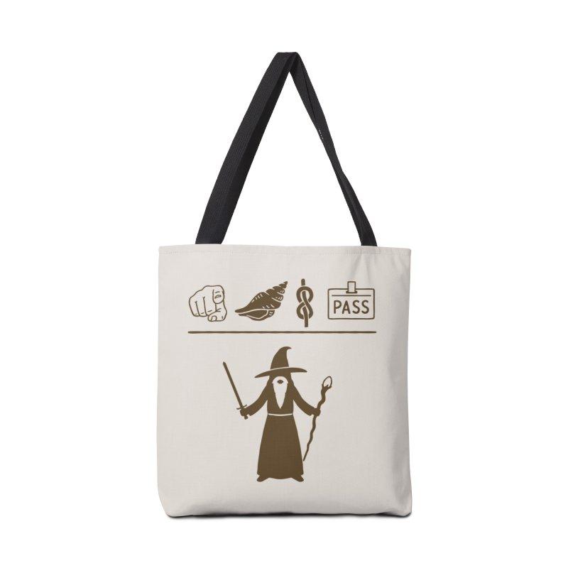 Wizard Hieroglyph Accessories Bag by Threadless Artist Shop